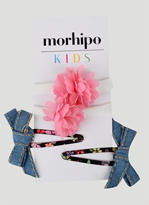 Morhipo Kids 4'lü Toka Pembe